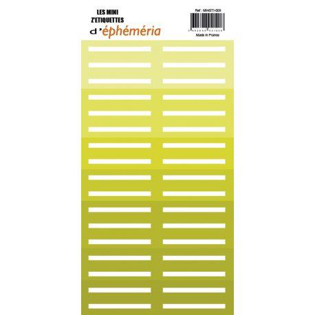 Mini Z'étiquettes vert anis
