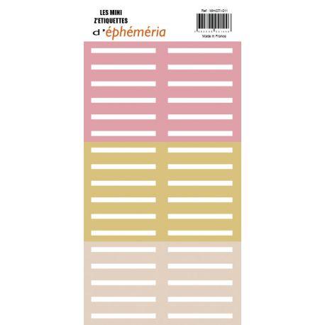 """Mini Z'étiquettes """"Après la pluie""""-ephemeria"""