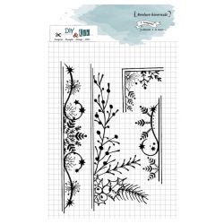 Clear Stamp Bordures florale- DIY and Cie