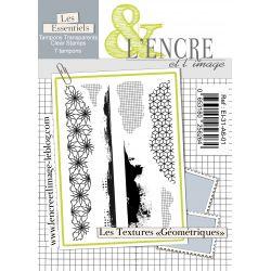 Tampon clear Les Textures Géométriques - L'Encre et l'Image
