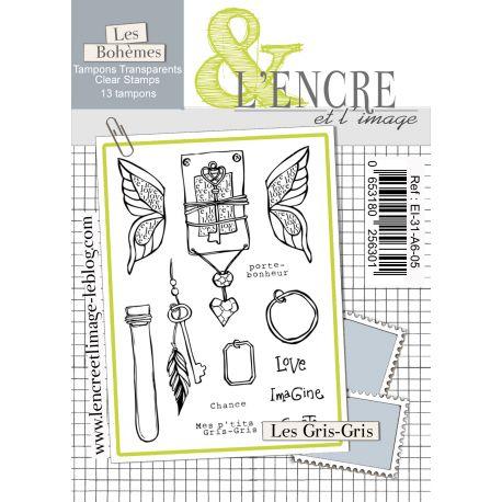 Tampon clear Les Gris-Gris - L'Encre et l'Image