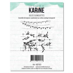 Clear Stamp Green&Graphik Jolies Guinguettes- Les Ateliers de Karine