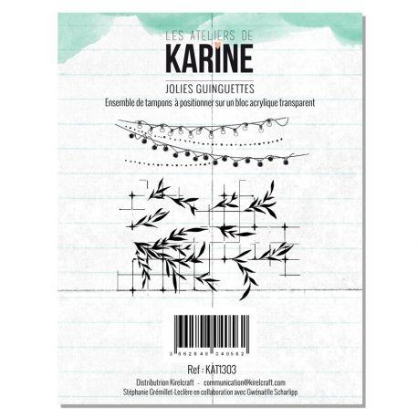 Tampon clear Green&Graphik Jolies guinguettes- Les Ateliers de Karine