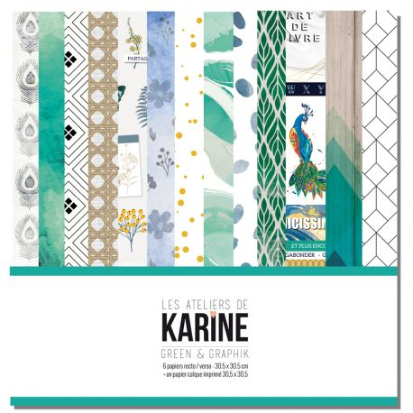 Green&Graphik collection - Les Ateliers de Karine