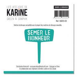 Die Semer le bonheur -Les Ateliers de Karine
