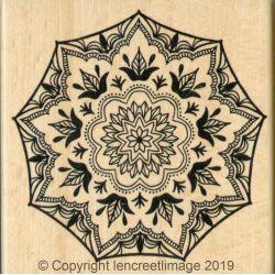 Tampon Bois Bohème - L'Encre et l'Image