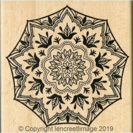 Wood Stamp Boho Style - L'Encre et l'Image