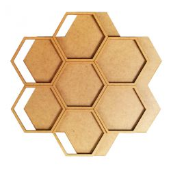 Home déco Honeycomb Flower
