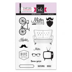 Tampons clear Mister Hipster - SOKAI