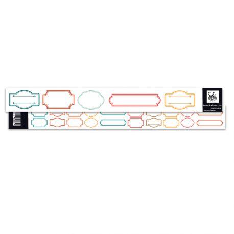 SO'leil Levant - SOKAI -  strip of cutting labels