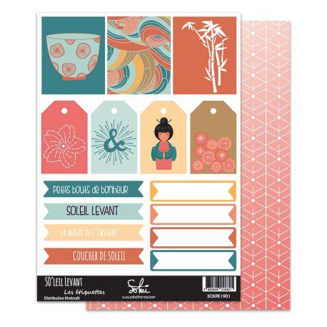 SO'leil Levant - SOKAI-  Planche Etiquettes  01
