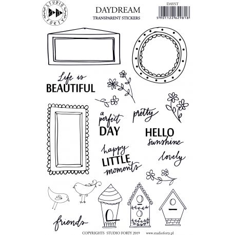 Stickers Transparent - Studio Forty - Daydream
