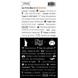 Stickers Lexique Voyage