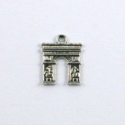 Breloque Arc de triomphe (lot de 20)