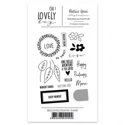 Clear Stamp 1 Oh Lovely Day - Béatrice Garni