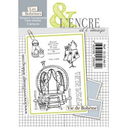 Clear Stamp Gypsy Life - L'Encre et l'Image