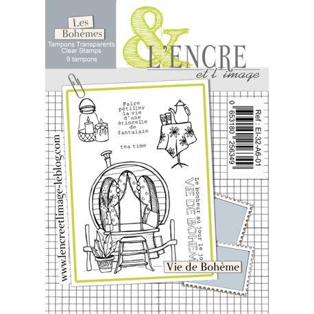 Clear Stamp Gypsy Life - L'Encre et l'Image
