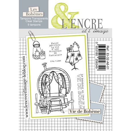 Tampon clear Vie de Bohème - L'Encre et l'Image