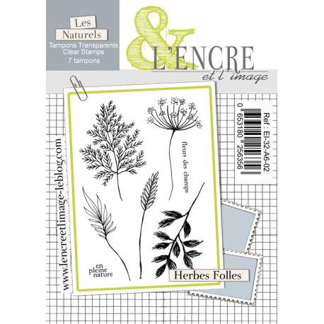 Clear Stamp Wild Flowers - L'Encre et l'Image