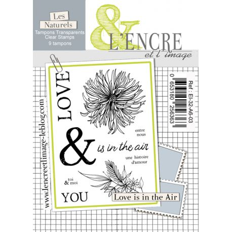 Clear Stamp Love is in the Air - L'Encre et l'Image