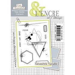Clear Stamp Variable Geometry- L'Encre et l'Image
