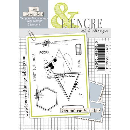 Tampon clear Géométrie Variable - L'Encre et l'Image