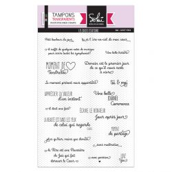 Clear stamps Les jolies citations - SOKAI