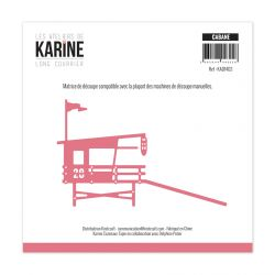 Die Long Courrier Cabane -Les Ateliers de Karine