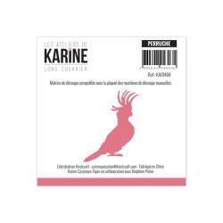 Die Long Courrier Perruche-Les Ateliers de Karine