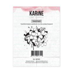 Tampon clear Long Courrier Frangipanier- Les Ateliers de Karine