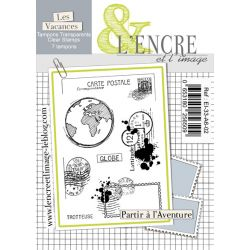 Clear Stamp Let's Go Be Adventurers -  L'Encre et l'Image