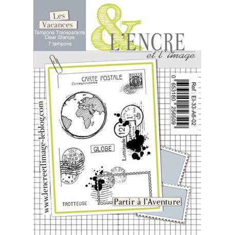 Clear Stamp Let's Go Be Adventurers -  L'Encre et l'Image