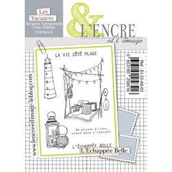 Tampon clear L'Echappée Belle - L'Encre et l'Image