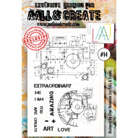 AALL and Create Stamp Set -14