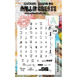 AALL and Create Stamp Set -40