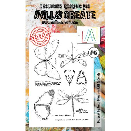 AALL and Create Stamp Set -45