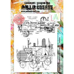 AALL and Create Stamp Set -114