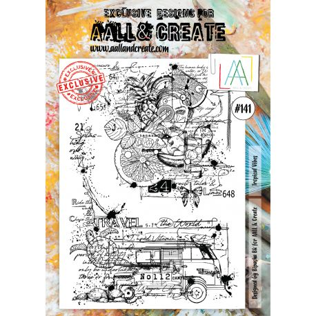 AALL and Create Stamp Set -141