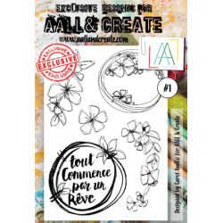 AALL and Create Stamp Set -1