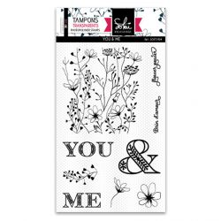 Clear stamps SO'Garden YOU & ME  - SOKAI