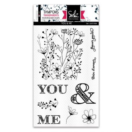 Clear stamps SO'Garden YOU & ME  - SOKAI