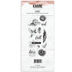 Tampon clear Esprit Bohème Automne- Les Ateliers de Karine