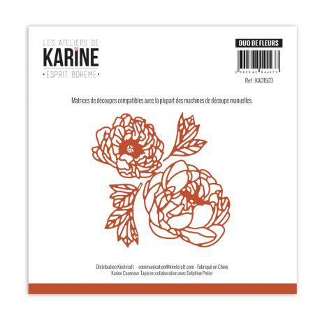 Dies Esprit Bohème Duo de fleurs -Les Ateliers de Karine