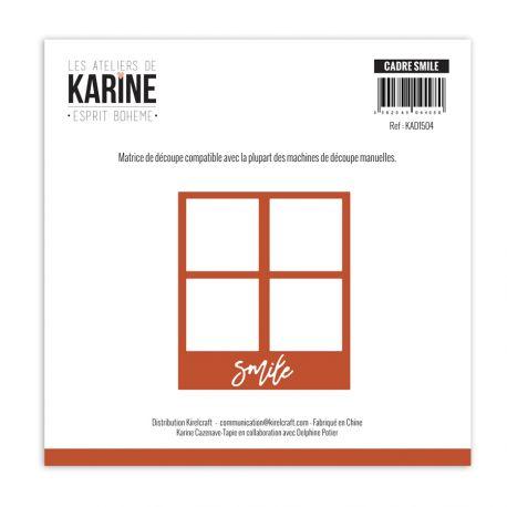 Die Esprit Bohème Cadre Smile-Les Ateliers de Karine