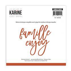 Dies Esprit Bohème Famille-Enjoy  -Les Ateliers de Karine