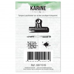 Tampon clear Pince and Co- Les Ateliers de Karine
