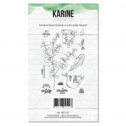 Clear Stamp Eucalyptus- Les Ateliers de Karine