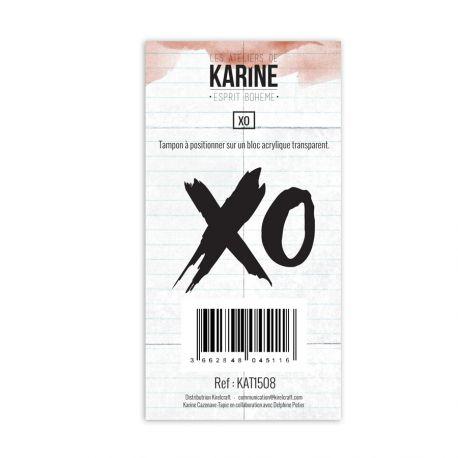 Clear Stamp Esprit Bohème XO- Les Ateliers de Karine