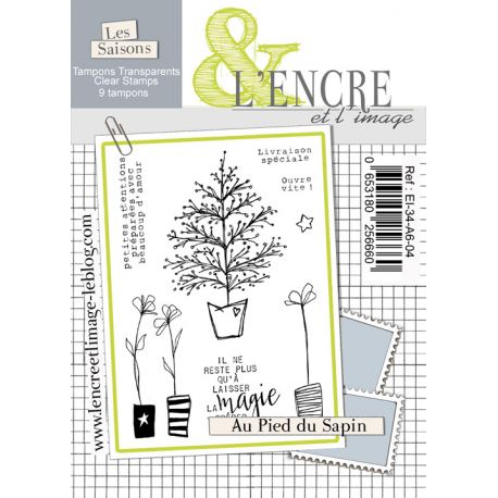 Clear Stamp - Under the Christmas Tree - L'Encre et l'Image