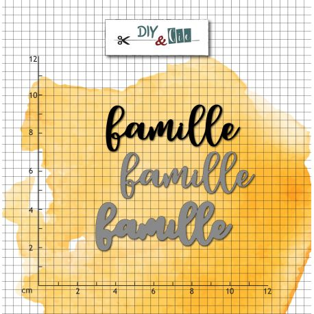 Dies et tampons Famille - DIY and Cie